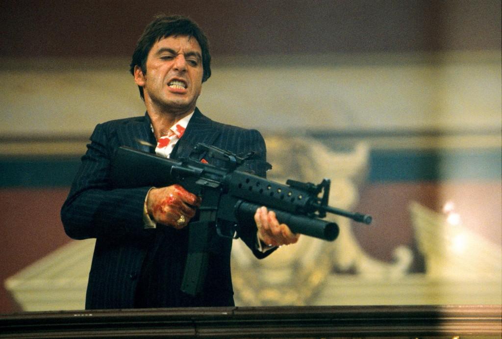 scarface 4 1024x691 - Les 5 meilleurs films sur les cartels de la drogue