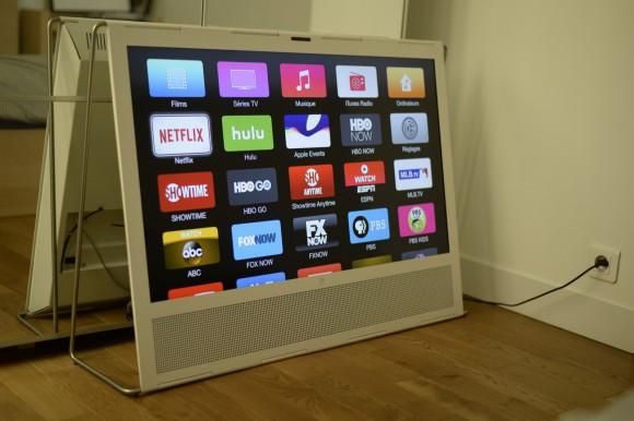 netflix apple tv 580x386 Comment Gonzague regarde ses séries