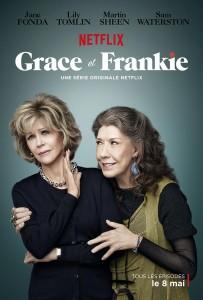 Grace and Frankie saison 1 poster 203x300 - Les 10 séries que vous ne verrez que sur Netflix