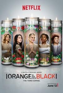 orange is the new black saison 3 laffiche lumineuse affiche 203x300 Les 10 séries que vous ne verrez que sur Netflix