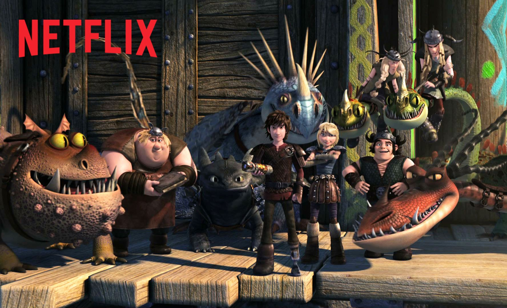 DreamWorks Dragons : Par delà les rives – Teaser – Netflix [HD]