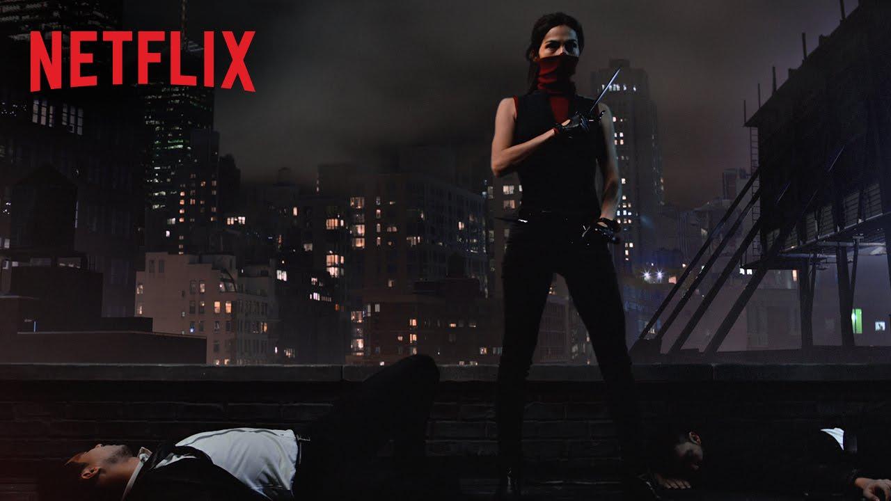 Marvel's Daredevil – Illustration du personnage – Elektra – Netflix [HD]