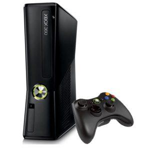 Console-Xbox-360-250-Go-noir-mat-manette-sans-fil-0