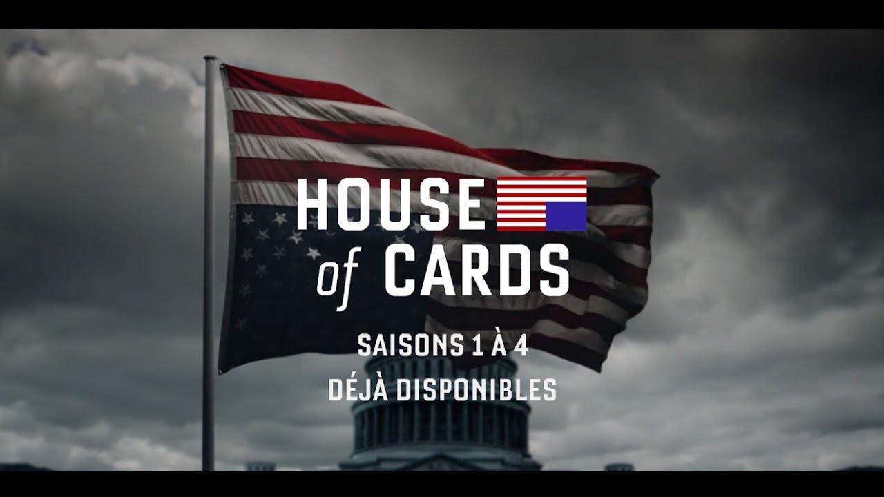 house of cards saison 5 le 30 mai le generique de la campagne youtube thumbnail Vidéos