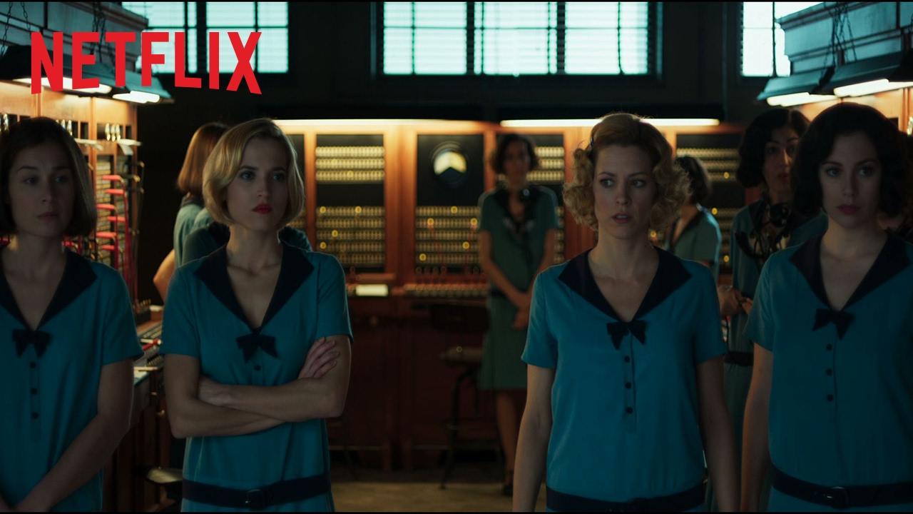 Las chicas del cable   Bande-annonce officielle   Seulement sur Netflix