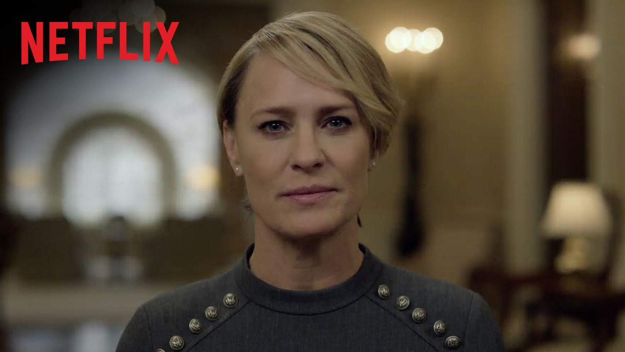 House of Cards | Un message de l'administration Underwood | Netflix