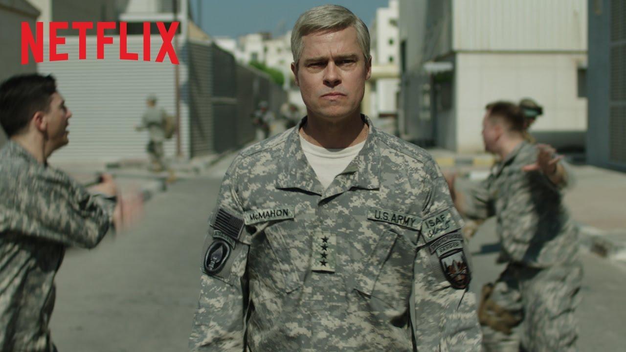 war machine bande annonce principale seulement sur netflix youtube thumbnail Vidéos