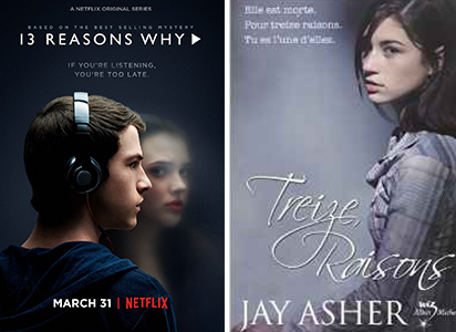 13 reasons why netflix - Les 10 adaptations de roman à ne pas rater sur Netflix