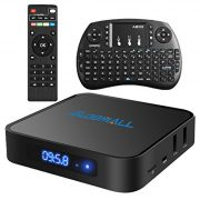 Globmall-Android-60-Smart-TV-Box-avec-Mini-Clavier-Sans-fil-2017-Modle-X1-Botier-TV-1Go-DDR4-8Go-EMMC-avec-Quad-Core-CPU-64-Bits-AmlogicS905X-Support-Rel-4K-WiFi-24-GHz-Bluetooth-40-OTG-0