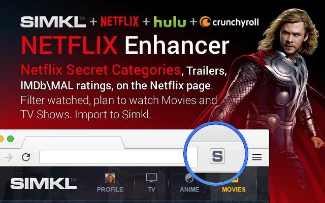 Une extension pour améliorer votre navigation sur Netflix