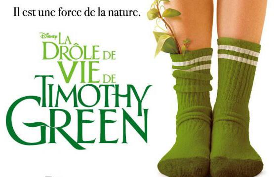 La drole de vie de Timothy Green Disney fait son come back sur Netflix