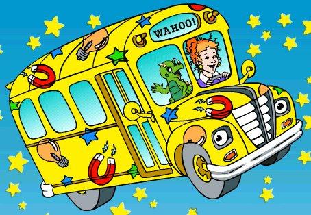 C'est mercredi ! Montez à bord du bus scolaire magique !