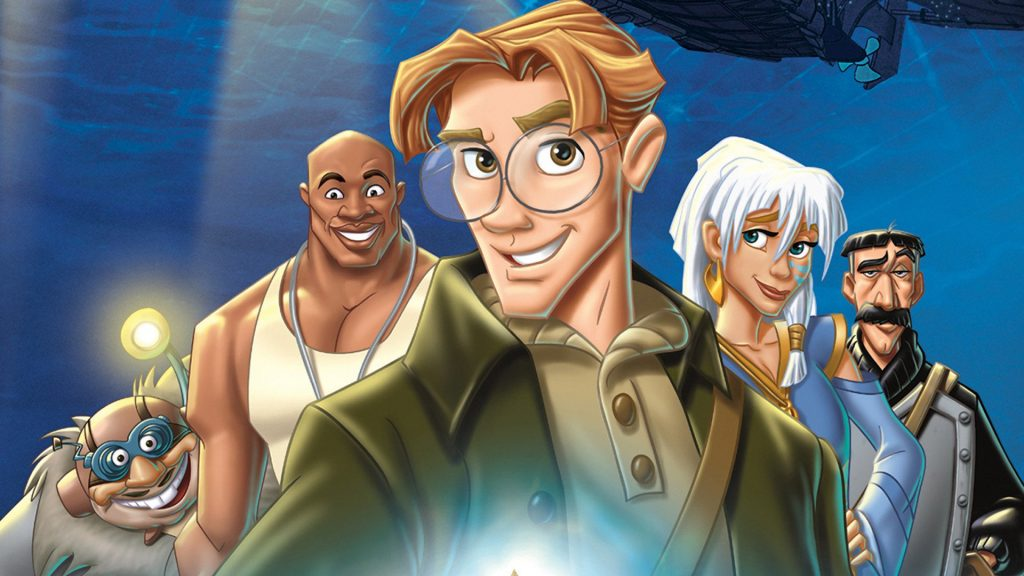 atlandide disney netflix 1024x576 Disney fait son come back sur Netflix