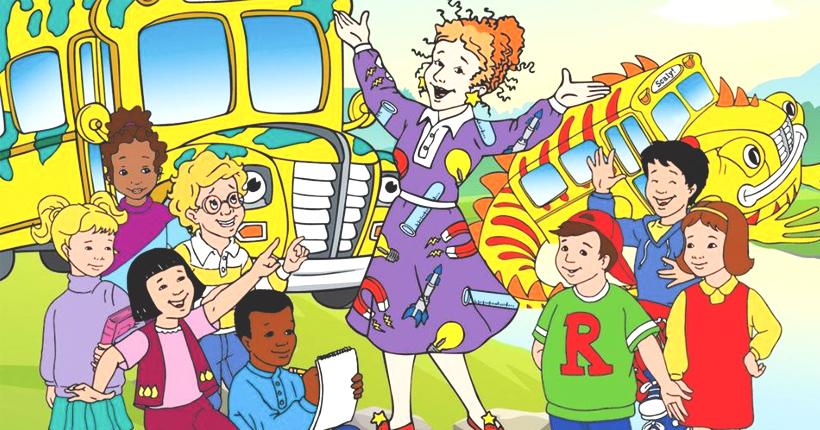 busmagique feat - C'est mercredi ! Montez à bord du bus scolaire magique !