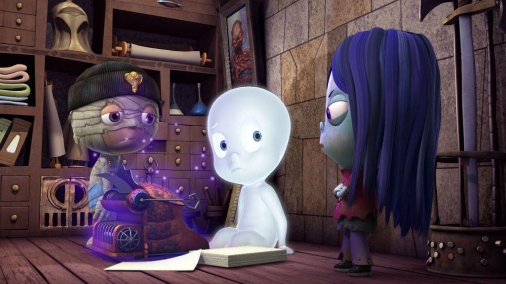 casper ecole peur netflix 1024x576 - 10 films pour enfants qui donnent (un peu) la chair de poule