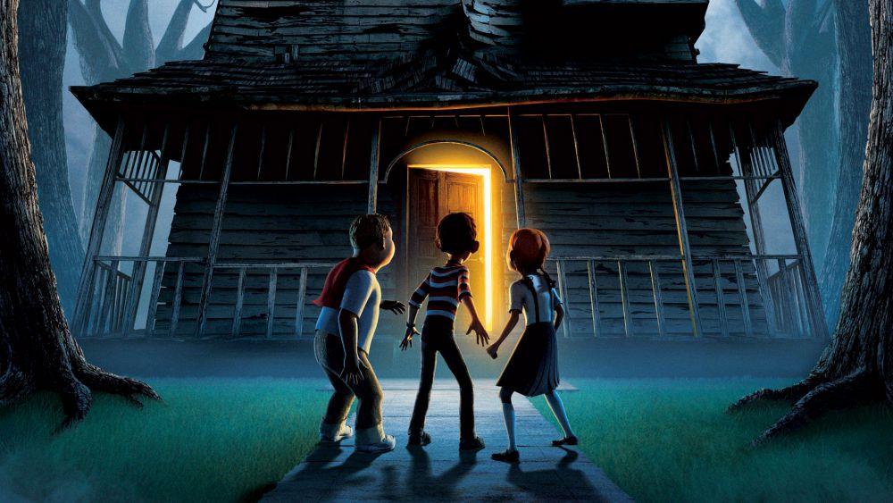 monster house netflix - 10 films pour enfants qui donnent (un peu) la chair de poule