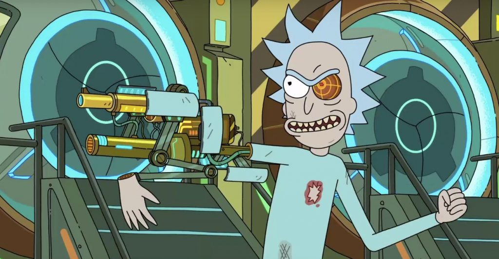 rickandmorty season3 gunarm 1024x531 Ce qui vous attend en novembre 2017 sur Netflix