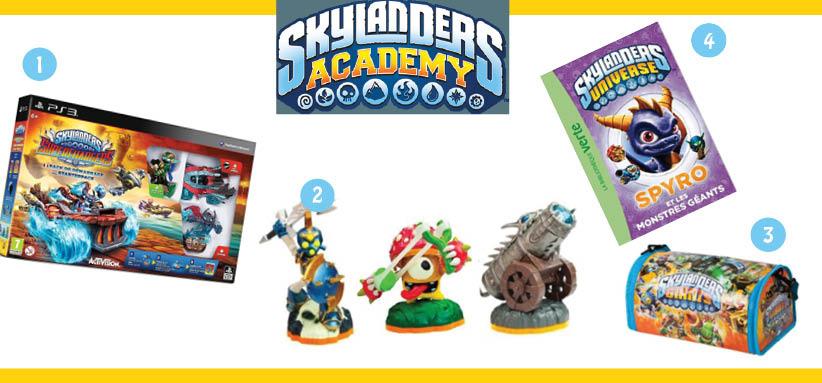 skylanders acadamy Pour le Noël de votre enfant, pensez à son héros Netflix préféré !