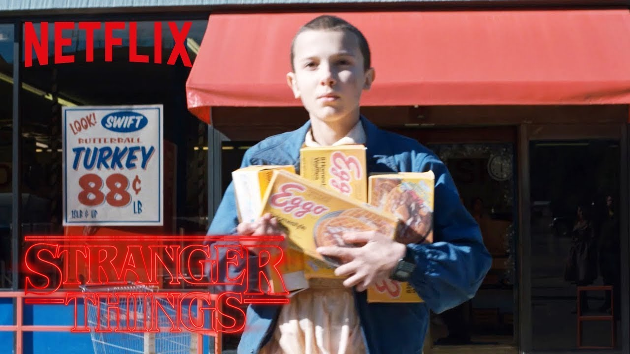 Stranger Things Rewatch | Clip: Eleven's Eggos | Netflix