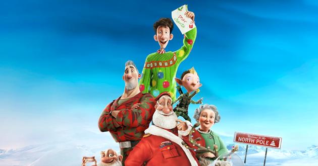 arthurchristmas netflix - La magie de Noël en 6 dessins animés uniquement sur Netflix