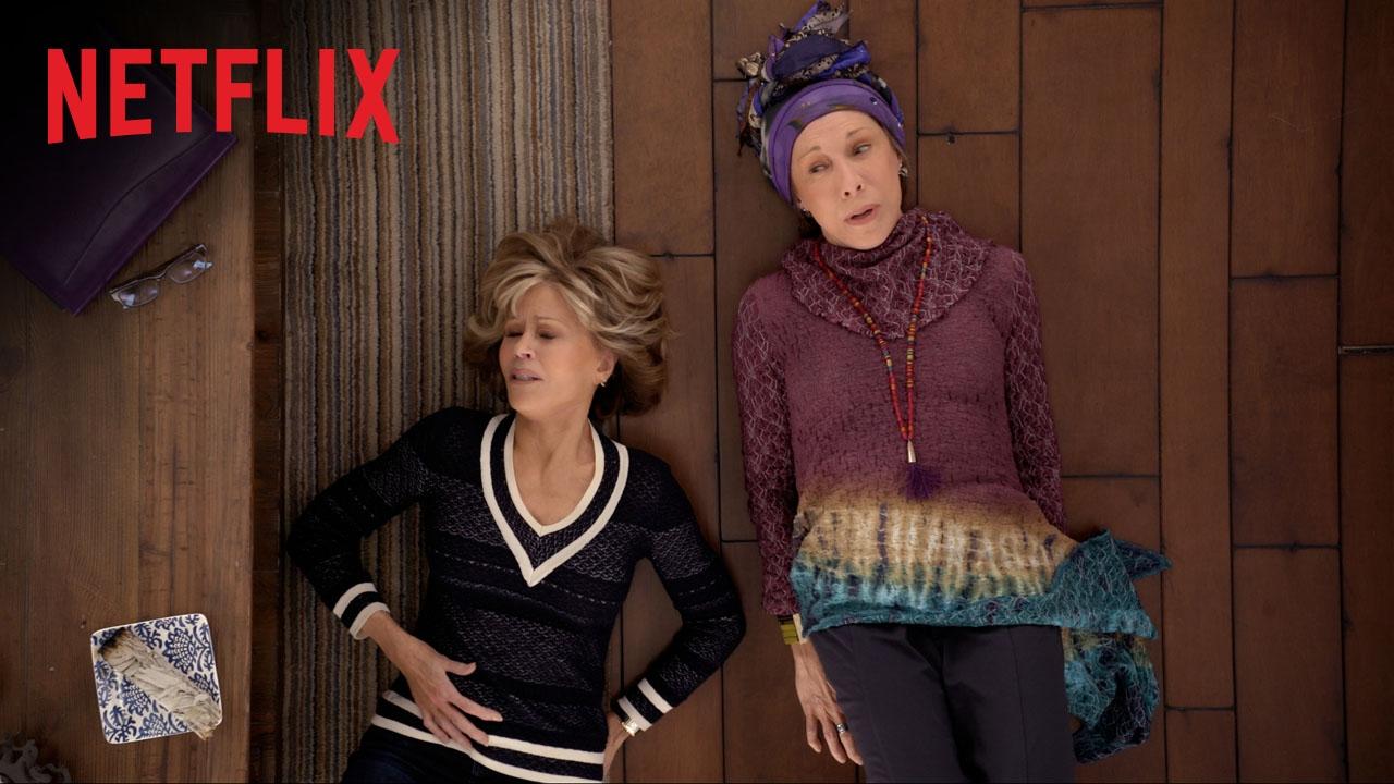 Grace et Frankie | Bande-annonce saison 3 | Netflix