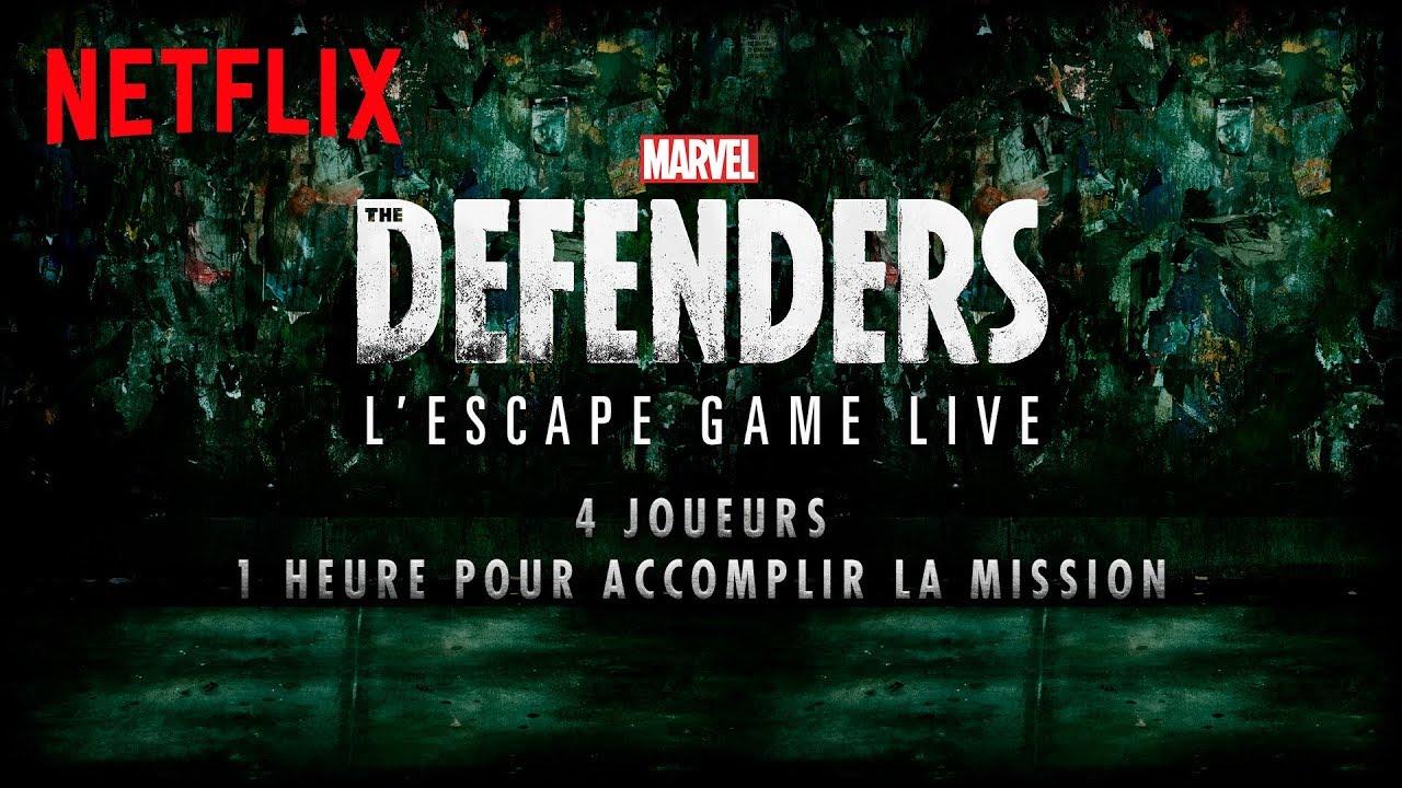 [LIVE] Marvel's The Defenders | Escape Game avec Mister V, Wass | Netflix