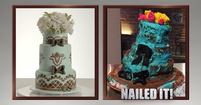nailed it cake fails 10 Cest du gâteau : lémission culinaire qui ne se prend pas au sérieux