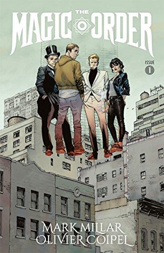 magic order comics book netflix - Netflix se diversifie et devient éditeur de comics