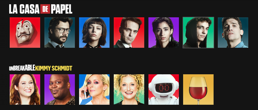 Capture d'écran 2018 07 26 à 15.54.53 Une galerie davatars inspirés des séries Netflix pour des profils plus funs !