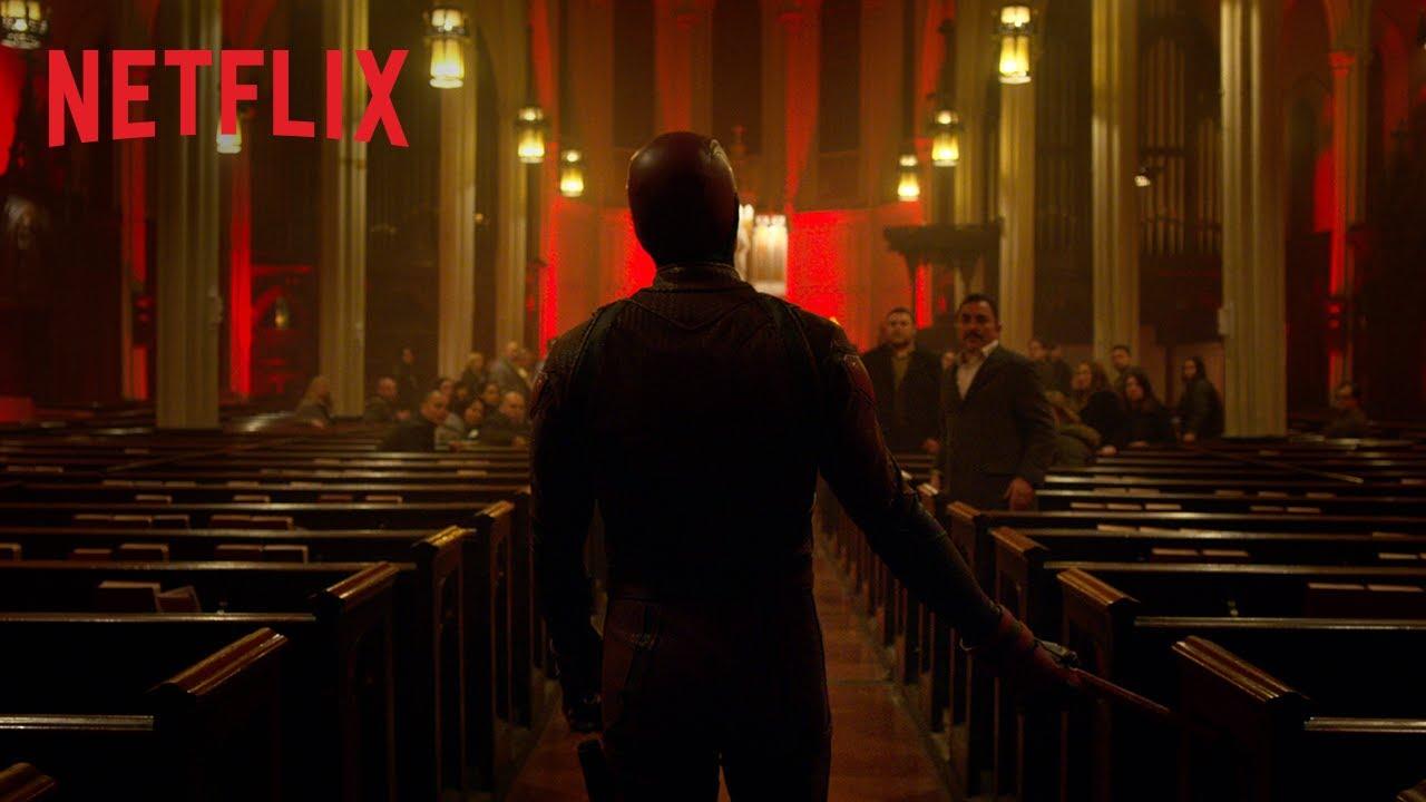 Marvel's Daredevil : Saison 3   L'agent Poindexter [HD]   Netflix