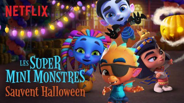 Les super mini monstres sauvent Halloween