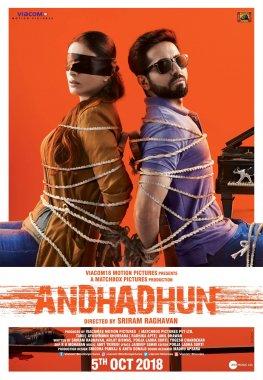 Andhadhun netflix Poster - Andhadhun : une délicieuse comédie noire à découvrir sur Netflix