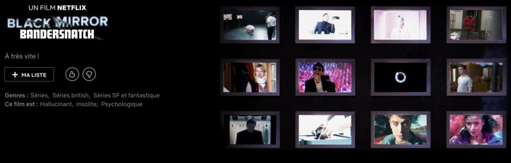 Capture d'écran 2018 12 18 à 19.49.32 1024x327 - Bandersnatch : le nouvel épisode de Black Mirror est annoncé sur le catalogue Netflix !
