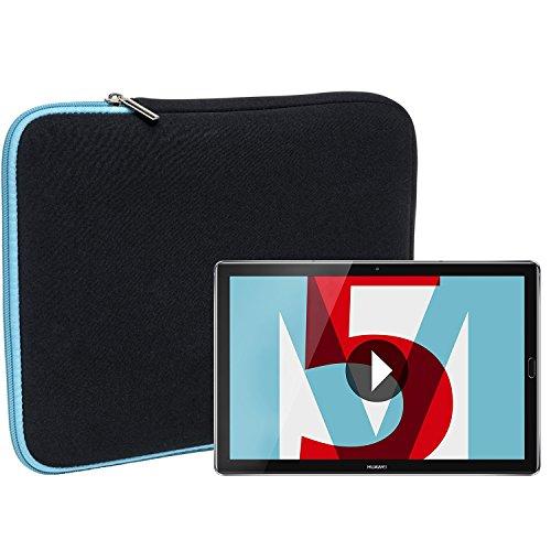 Slabo-Tablette-Housse-pour-Huawei-MediaPad-M5-M5-Pro-108-Housse-de-Protection-en-noprne-TurquoiseNoir-0