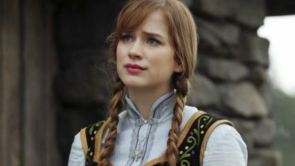 """anna once upon a time elizabeth lail 1024x576 - Qui est Elizabeth Lail, la """"partenaire"""" de Penn Badgley dans la série YOU ? (Netflix)"""