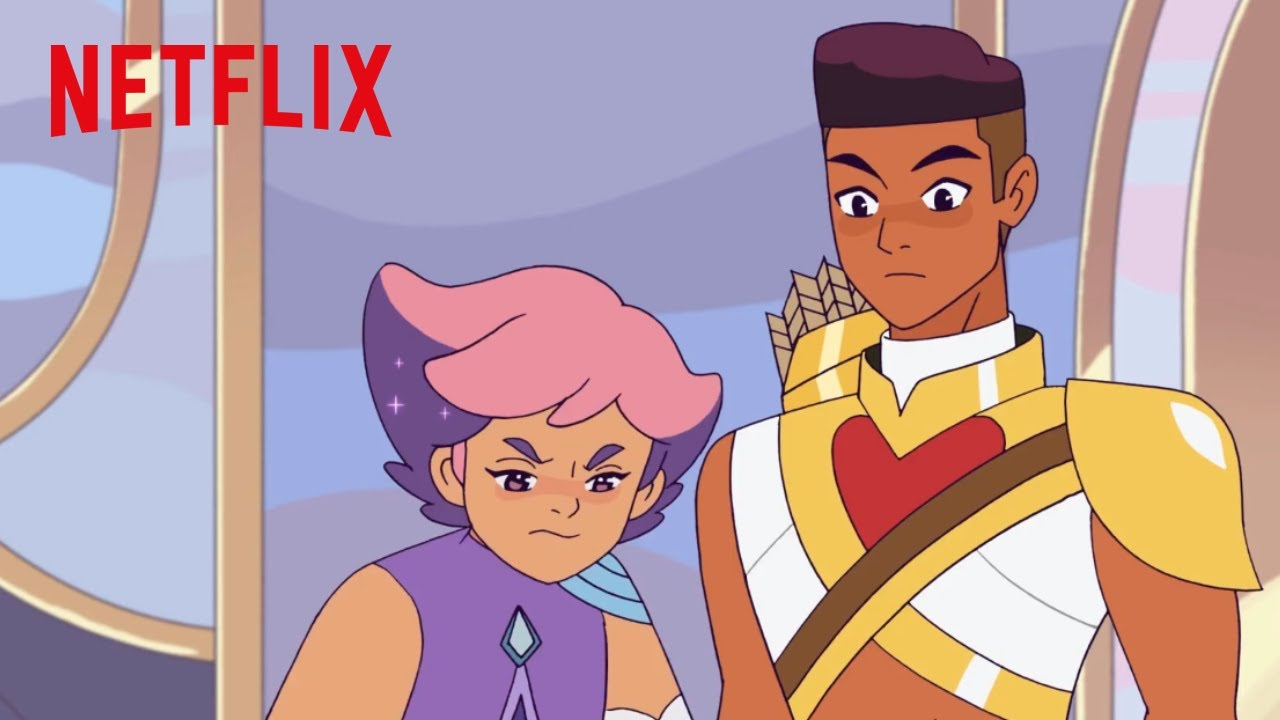 She-Ra and the Princesses of Power | Glimmer and Bow | Netflix