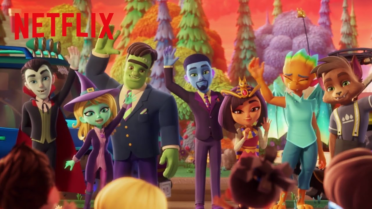 Super Monsters Theme Song | Super Monsters | Netflix