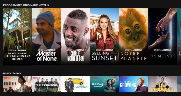 Tarifs Netflix 2019