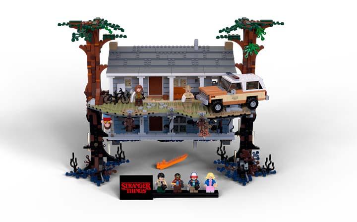 LEGO Stranger Things maison byers - Lego étend son univers à celui de Stranger Things dans une collab' renversante ! (Netflix)