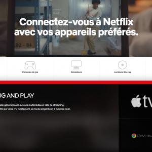 Appareils non certifiés par Netflix