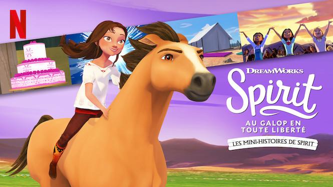 Spirit : Au galop en toute liberté : Les mini-histoires de Spirit