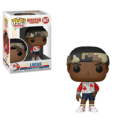 Funko-Figurines-Pop-Vinyl-Television-Stranger-Things-Lucas-Collectible-Figure-38530-Multi-0-0