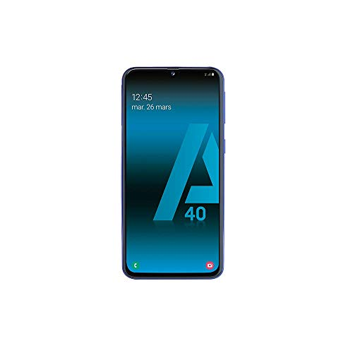 SAMSUNG-GALAXY-A40-Smartphone-portable-dbloqu-4G-Ecran-5-9-pouces-64-Go-Double-Nano-SIM-Android-Bleu-Version-Franaise-0