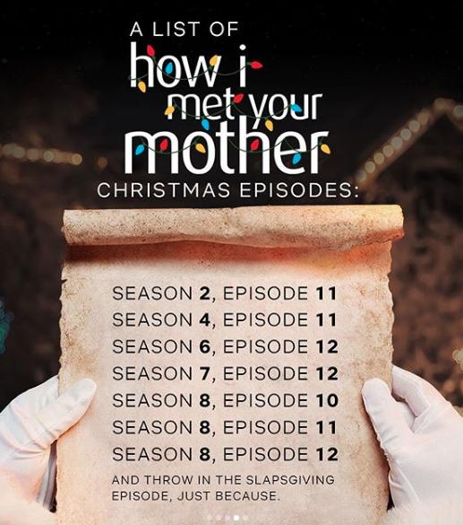 Capture d'écran 2019 12 05 à 21.13.43 - How I Met Your Mother : La liste de tous les épisodes de Noël à voir sur Netflix