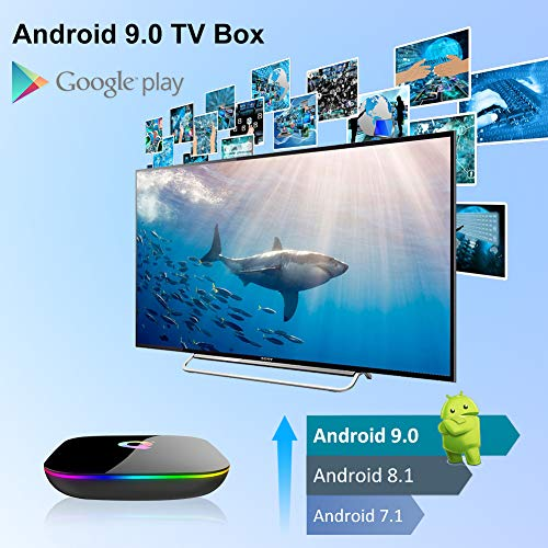 Android-TV-Box-Q-Plus-TV-Box-Android-90-with-2Go-RAM-16Go-ROM-H6-Quad-Core-cortex-A53-Processor-Smart-TV-Box-Supports-6K-Resolution-3D-24GHz-WiFi-10100M-Ethernet-USB-30-Media-Player-0-3