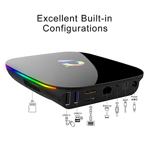 Android-TV-Box-Q-Plus-TV-Box-Android-90-with-2Go-RAM-16Go-ROM-H6-Quad-Core-cortex-A53-Processor-Smart-TV-Box-Supports-6K-Resolution-3D-24GHz-WiFi-10100M-Ethernet-USB-30-Media-Player-0-4