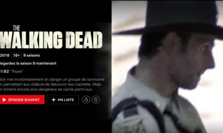 La saison 9 de Walking Dead est enfin disponible sur Netflix !!!