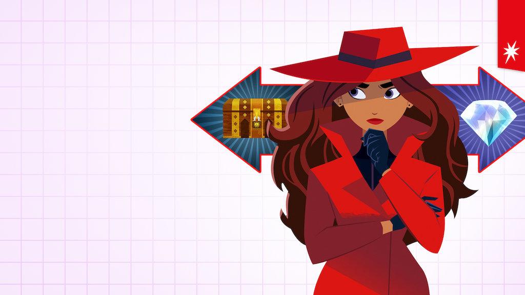 C'est mercredi : entrez dans l'aventure interactive de Carmen Sandiego sur Netflix