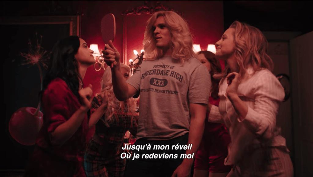 capture decran 2020 04 16 a 15 07 26 1024x581 - Riverdale : l'épisode musical (17) de la saison 4 est diffusé sans doublage