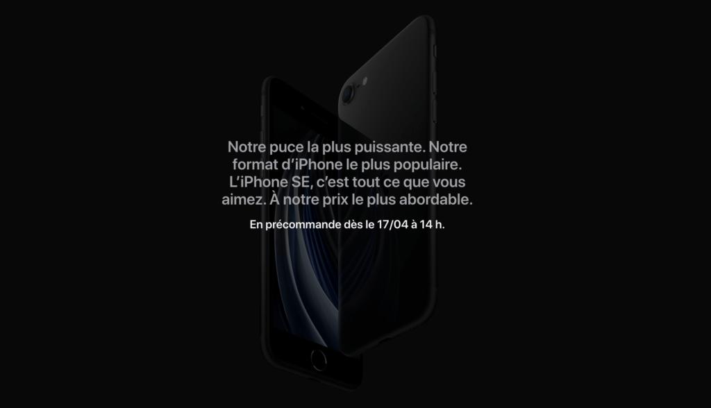 capture decran 2020 04 16 a 18 44 34 1024x588 - L'iPhone SE (2nde génération) vient de sortir, et il est taillé pour Netflix !